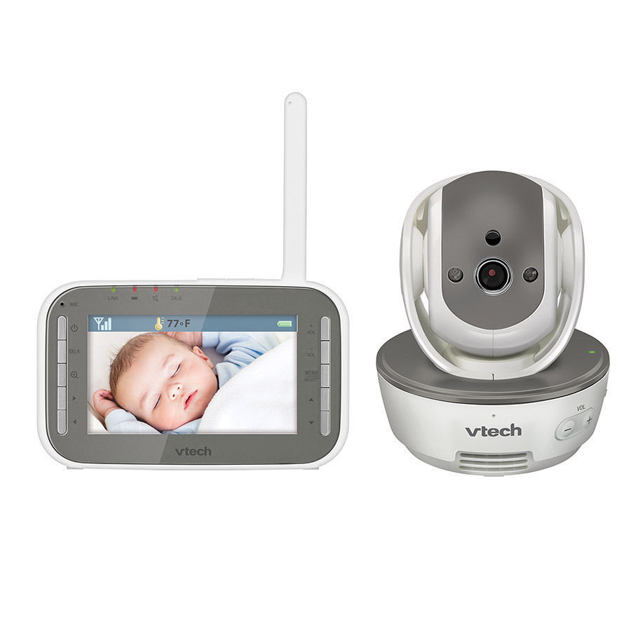 VTech BM4500 Safe & Sound Full Colour Pan & Tilt Video and Audio