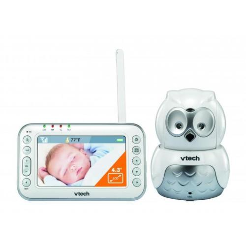 VTech BM4500 OWL Safe Sound Full Colour Pan & Tilt Video Audio