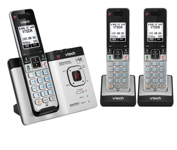 VTECH 15750 TRIPLE DECT6.0 WITH BLUETOOTH MOBILE CONNECT CORDLES