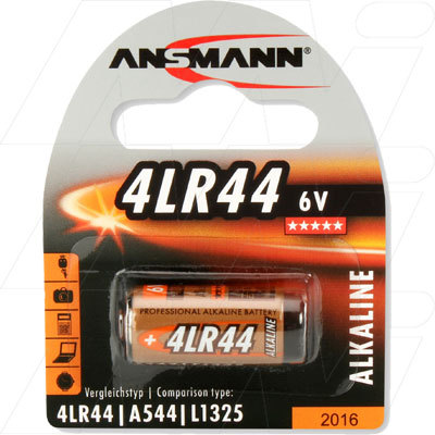 4LR44 6V ANSMANN ALKALINE BATTERY CAMERA DOG COLLAR GAME