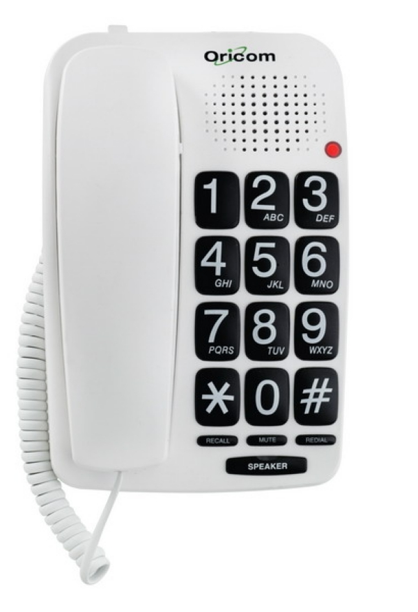 Oricom Special Needs Phone - TP58 corded telephone