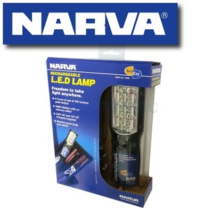 NARVA 71302 LED CORDLESS RECHARGABLE WORKLIGHT L.E.D. LIGHT
