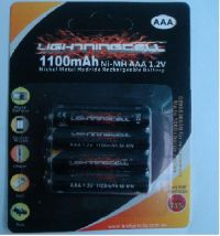 GP 600MAH AAA RECHARGEABLE 4 PACK BATTERIES