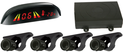 AXIS APS400W 4 WIRELESS SENSOR PARKING SYSTEM LED DISPLAY