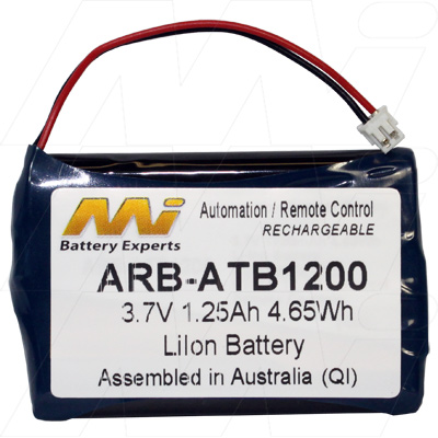 UNIVERSAL REMOTE CONTROLLER ARB-ATB1200 BATTERY