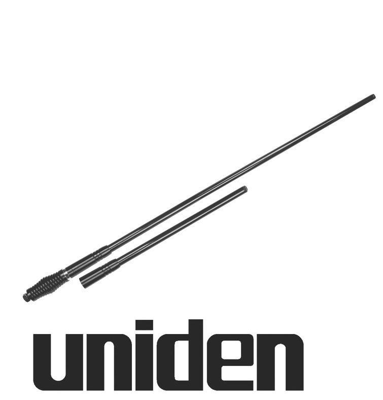 UNIDEN AT970BK TWIN UHF CB ANTENNA BLACK 6.6DBI 3DBI PACK