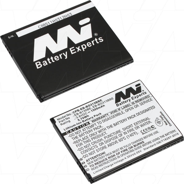 SAMSUNG GALAXY ACE 4 REPLACEMENT BATTERY  EB-B130BE EB-BG313BBE