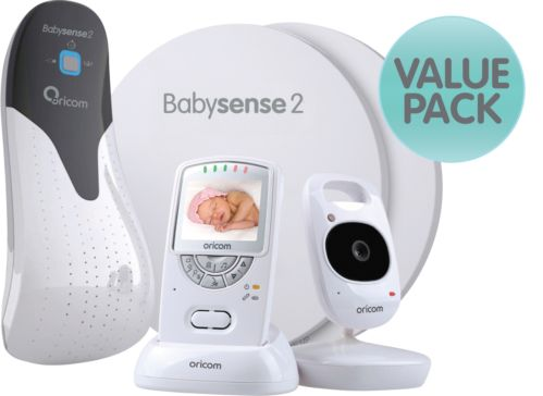 ORICOM SECURE 710 VIDEO MONITOR+BABYSENSE2 RESPIRATORY PACK