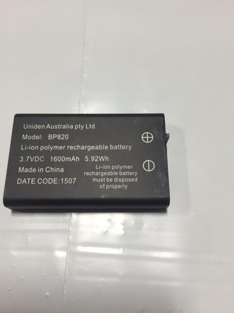 UNIDEN BP820 1600MAH ORIGINAL REPLACMENT BATTERY
