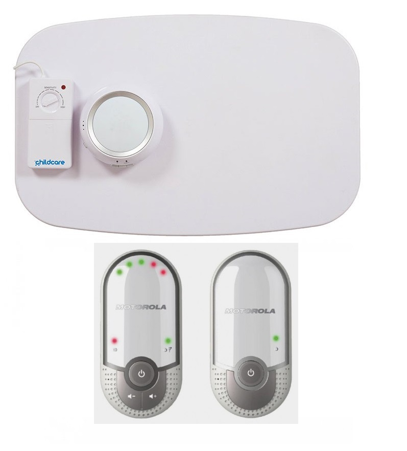 MOTOROLA BABY BREATHING MATS+MBP11 AUDIO MONITOR PACK