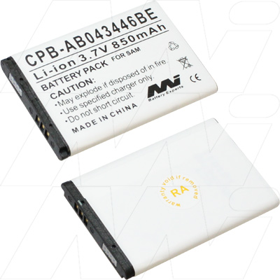 Samsung AB043446BE replacement mobile battery