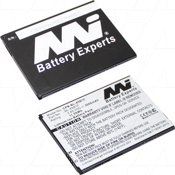 LG BL-45B1F REPLACEMENT MOBILE PHONE BATTERY F600 H900 VS990
