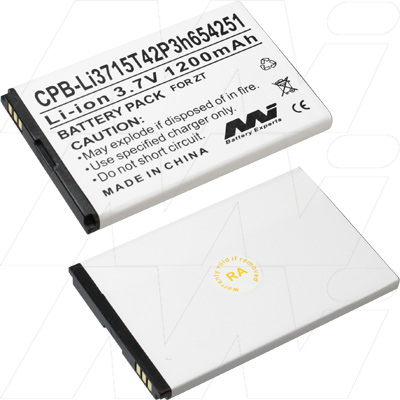 ZTE Replacement battery suit Li3715t42P3h654251