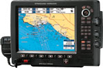 AXIS CPV-550 12 INCH GPS PLOTTER w 25W VHF TRANSCEIVER