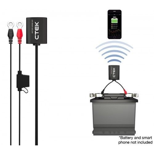 CTEK CTX BATTERY SENSE MONITORS YOUR BATTERY FROM ANDROID IPHONE