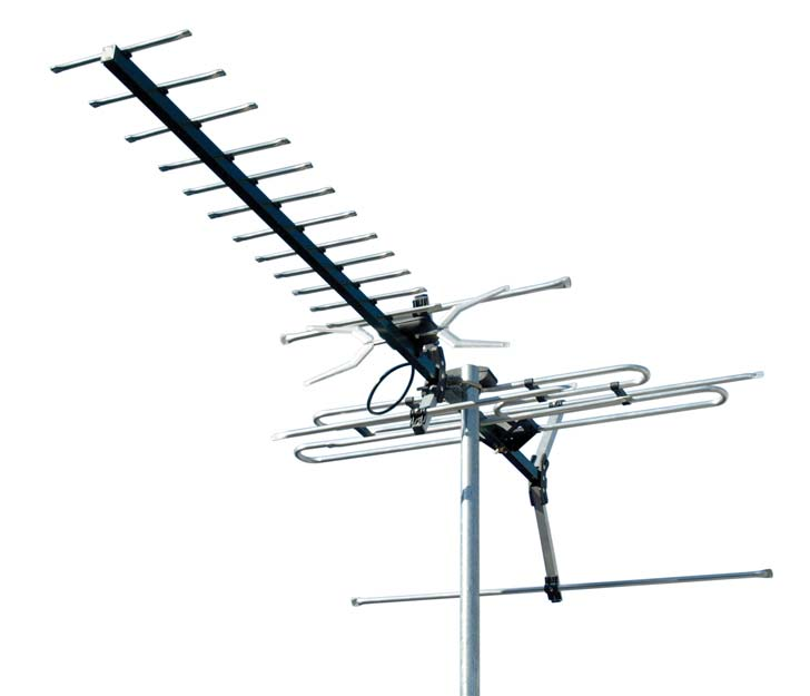 DIGIMATCH DC21A VHF UHF OUTDOOR ANTENNA 21 ELEMENT DIGITAL TV