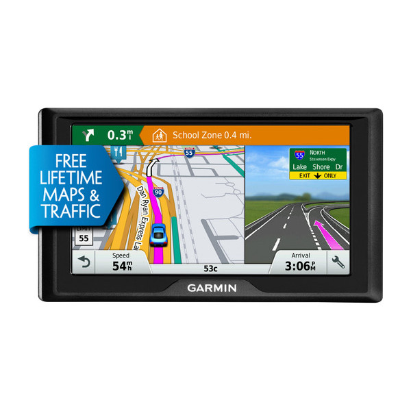 GARMIN DRIVE 60LMT IN-CAR GPS NAVIGATION+FREE LIFETIME MAPS