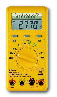 AUTORANGE & BAR GRAPH DIGITAL MULTIMETER - DM9092