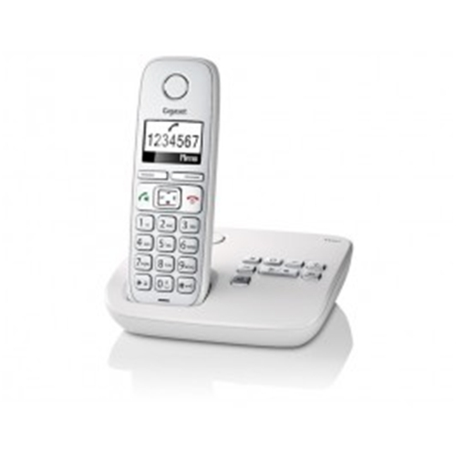 SIEMENS GIGASET E310A CORDLESS PHONE & ANSWER MACHINE WHITE
