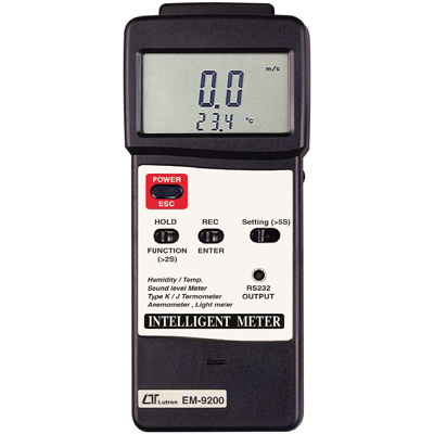 INTELLIGENT METER EM9200 TYPE K/J THERMOMETER