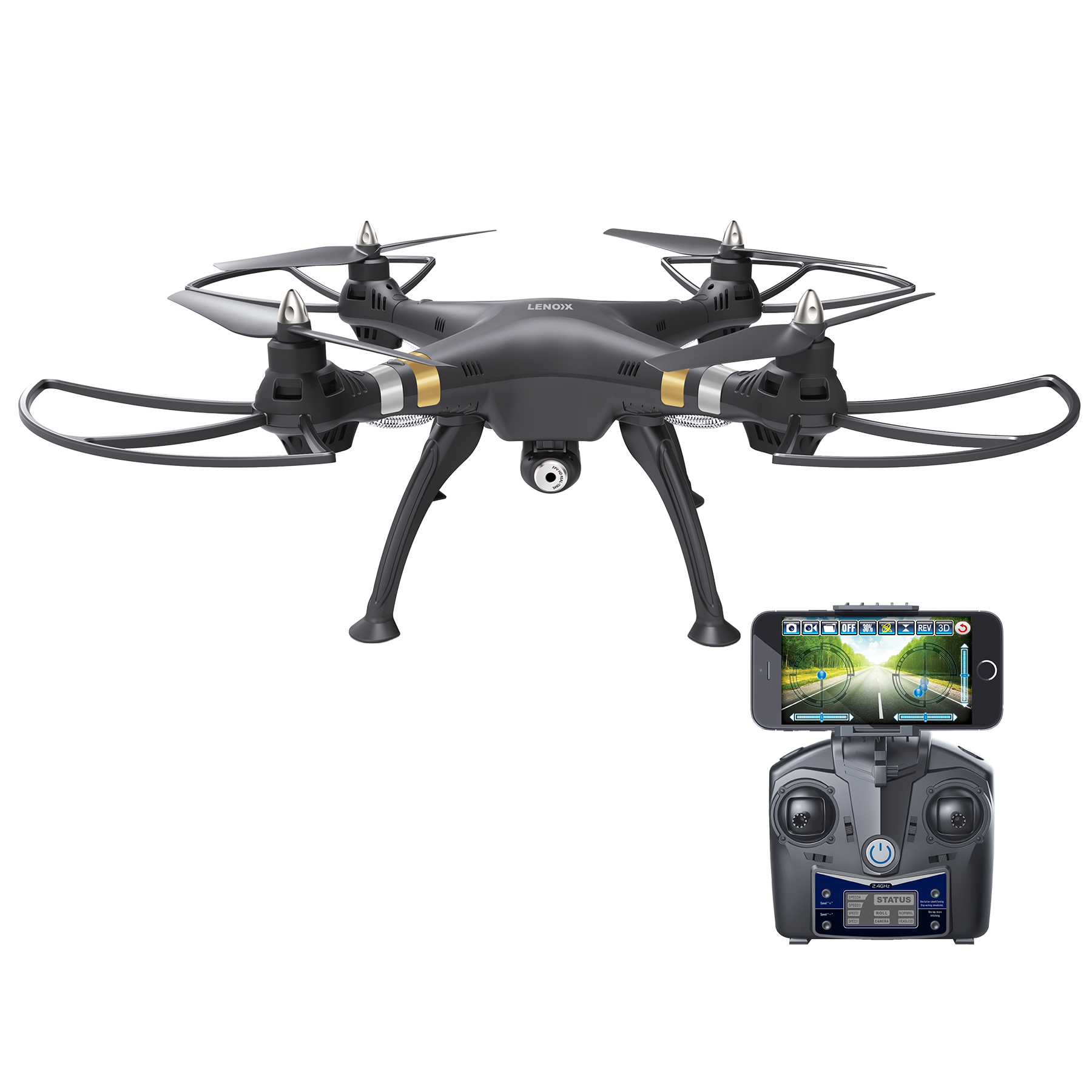 LENOXX FD1400 LONG DISTANCE DRONE WITH WIFI
