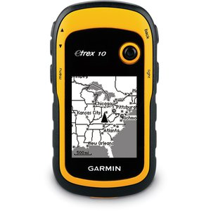GARMIN E TREX 10 RUGGED WATERPROOF GPS RECEIVER 2.2