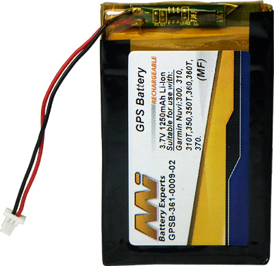 GARMIN NUVI 310 REPLACEMENT LITHIUM BATTERY
