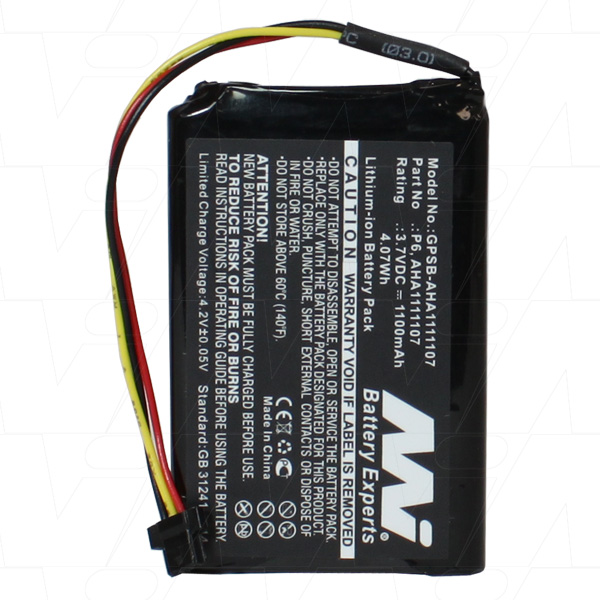 TOMTOM GO 610 GPSB-AHA1111107-BP1 GPS BATTERY