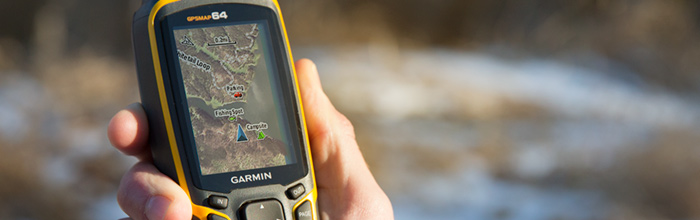 GARMIN GPSMAP64 HANDHELD WITH GPS GLONASS COMBINED