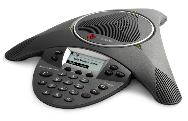 POLYCOM IP6000 CONFERENCE PHONE POE 802.3AF 0