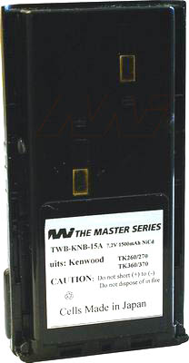 KENWOOD AFTERMARKET KNB15A UHF RADIO BATTERY