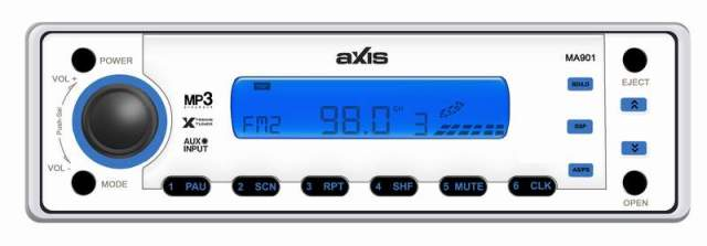 MARINE MA-901K MP3/WMA COMPLETE AUDIO SYSTM