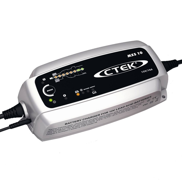 CTEK MXS10 12V BATTERY CHARGER 10AMP FOR CAR CARAVAN MARINE
