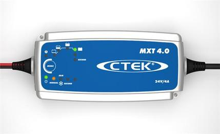 CTEK MXT4.0 24V 4 AMP SMART  BATTERY CHARGER XT4000