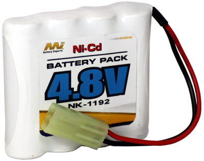MI NICD 4.8V 700MAH RC BATTERY MINI TAMIYA NIKKO SUIT TOYS RC