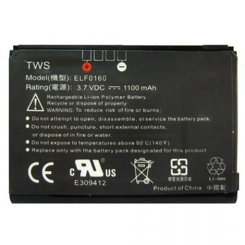 Battery for HTC ELF 0100 P3450 Series Battery