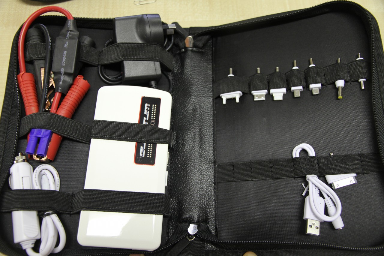 QUANTUM BATTERY BACKUP CHARGING & JUMPER LEAD POWER PACK