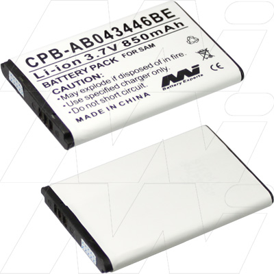 SAMSUNG CPB-AB043446BE-BP1 REPL BATTERY