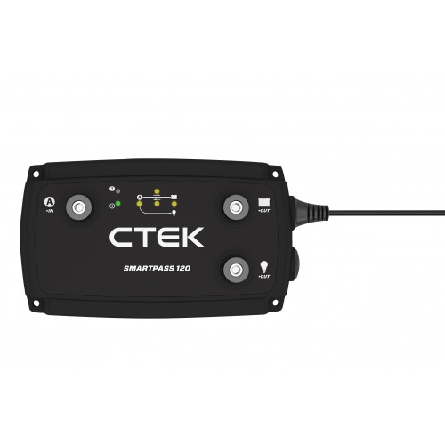 CTEK SMARTPASS 120A BATTERY MANAGEMENT SYSTEM 12V AGM DEEP CYCLE