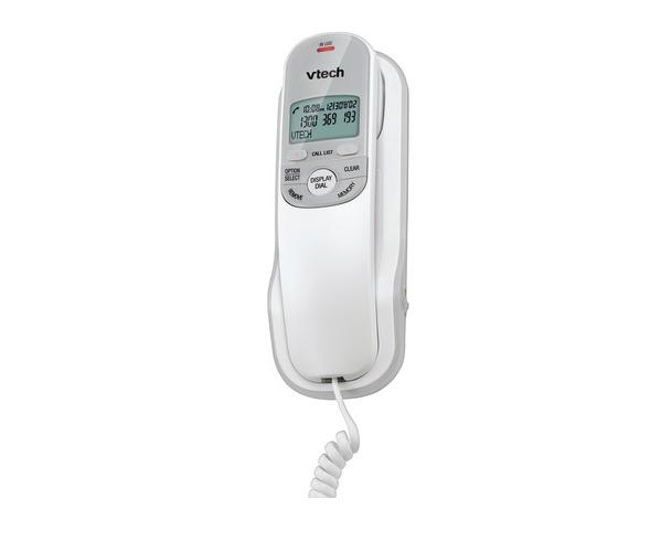 VTECH T1100 WHITE CORDED TELEPHONE CALLER ID  INT BUTTONS