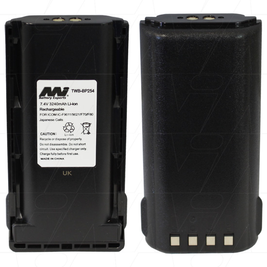 ICOM TWB-BP254 TWO-WAY RADIO BATTERY