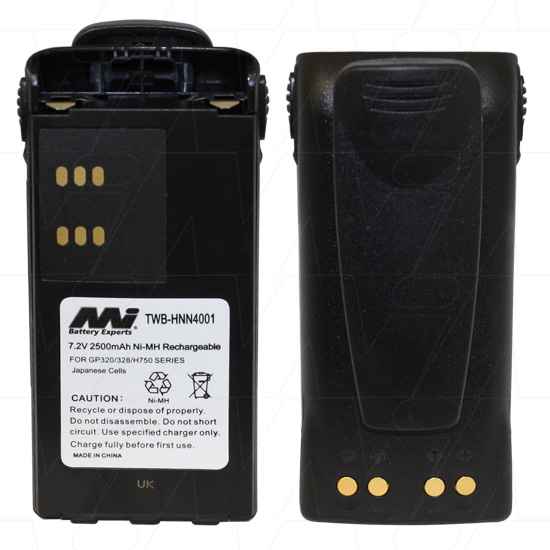 MOTOROLA IMPRES TWB-HNN4001 TWO WAY RADIO BATTERY