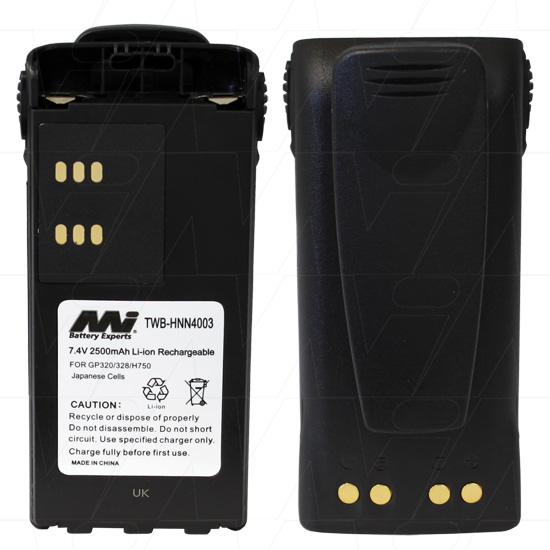 MOTOROLA IMPRES TWB-HNN4003 TWO WAY RADIO BATTERY