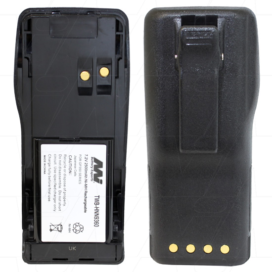 MOTOROLA TWB-HNN9360 TWO-WAY RADIO BATTERY