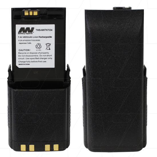 MOTOROLA IMPRES TWB-NNTN7034 TWO-WAY RADIO BATTERY