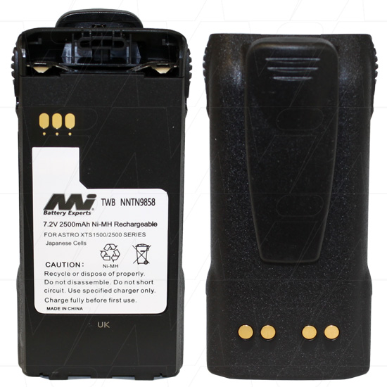 MOTOROLA IMPRES TWB-NNTN9858 TWO-WAY RADIO BATTERY
