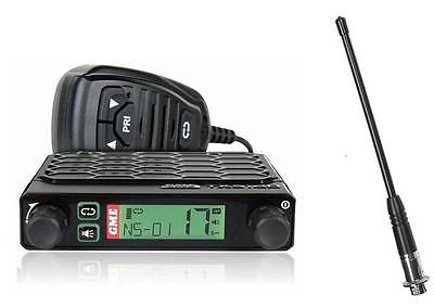 GME TX3120s 80CH 5W UHF RADIO + UNIDEN AT380 RUBBER ANTENNA