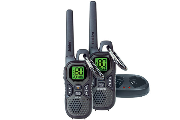 UNIDEN UH515-2 1.5W 80 CHANNELS TWIN UHF HANDHELD RADIO PACK