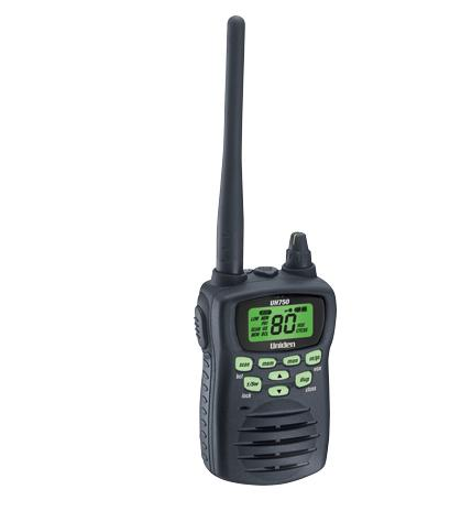 UNIDEN UH750 NB  5 WATT UHF 80 CHANNEL RADIO HANDHELD