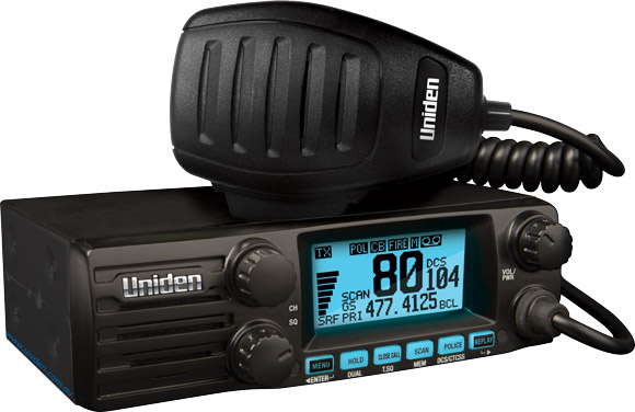 Uniden UH8050S NB 5w Din Mount Size Uhf Vehicle Radio